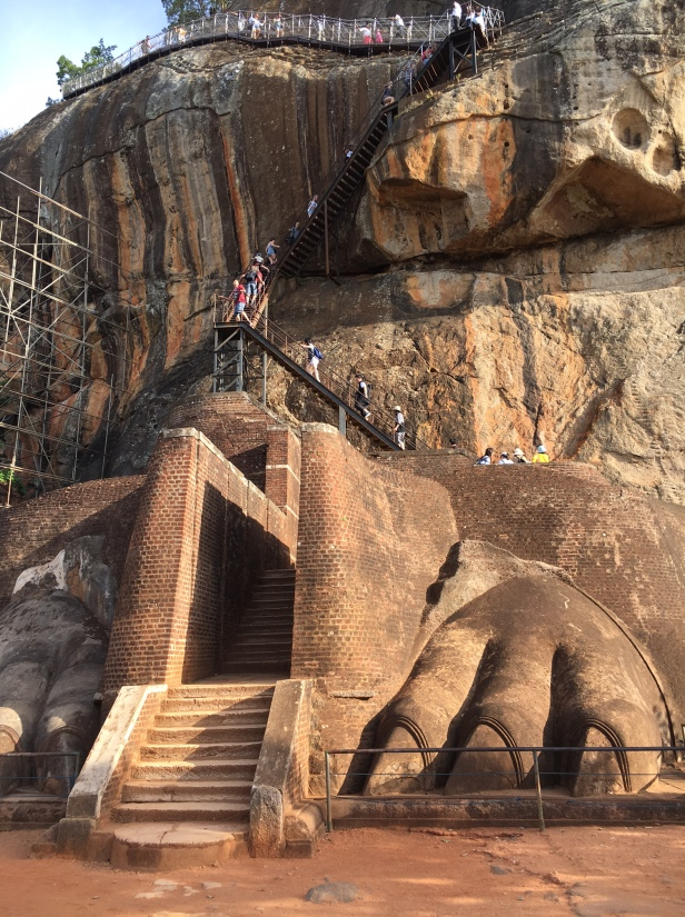 Sigiriya Lion Paws